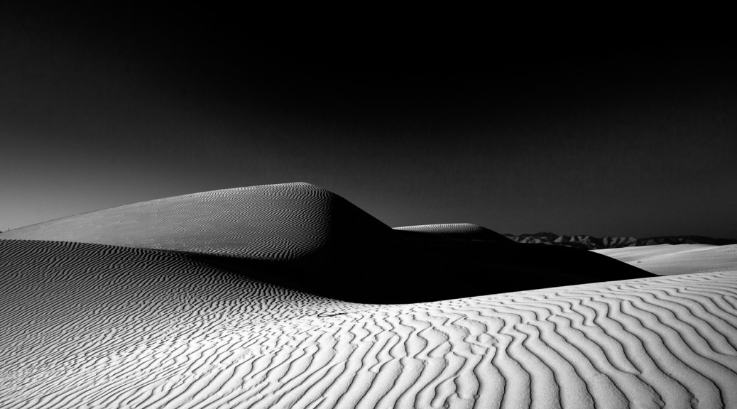 Nipomo Dunes, Guadalupe, California. 2010. Digital Image on Fine Art Paper.